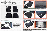 Резиновые коврики в салон на Subaru Impreza 12- (Субару Импреза 12-)