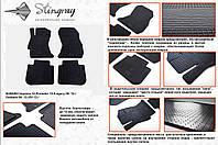 Резиновые коврики в салон на Subaru Forester 12- (Субару Форестер 12-)