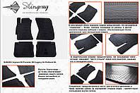 Резиновые коврики в салон на Subaru Impreza 08-  (Субару Импреза 08-)