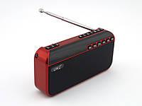 🎁 Чудовий подарунок! Колонка Фм приймач UKC U7 FM приемник 3W с MP3, красный | AG310310