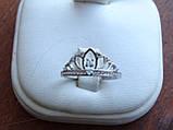 """Серебряное кольцо """"Диадема"""" Корона, фото 8"""