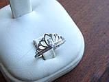 """Серебряное кольцо """"Диадема"""" Корона, фото 9"""