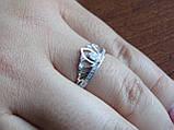 """Серебряное кольцо """"Диадема"""" Корона, фото 2"""