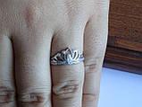 """Серебряное кольцо """"Диадема"""" Корона, фото 4"""