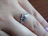 """Серебряное кольцо """"Диадема"""" Корона, фото 5"""