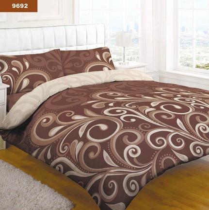 9692 Полуторное постельное белье ранфорс Platinum Viluta
