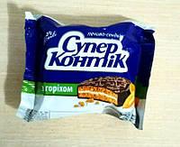 Печенье-сэндвич Супер- Контик 90*50г. орех