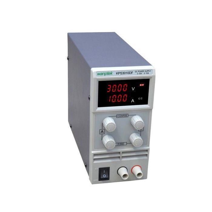 Лабораторний блок живлення Wanptek KPS3010DF 30V 10А 4х розрядний індикатор