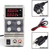 Лабораторний блок живлення Wanptek KPS3010DF 30V 10А 4х розрядний індикатор, фото 2