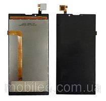 Дисплей (LCD) Archos 55 Platinum с тачскрином, чёрный