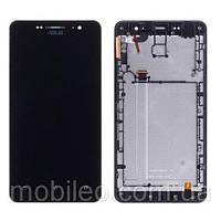 Дисплей (LCD) Asus ZenFone 6 (6.0) | A600CG | A601CG с тачскрином и рамкой, чёрный