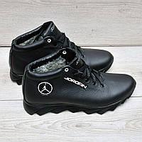 Мужские ботинки с мехом в стиле Jordan, фото 1