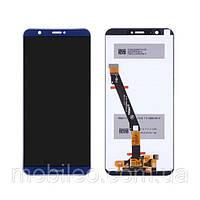 Дисплей (LCD) Huawei P Smart | FIG-LX1 | FIG-L21 с тачскрином, синий