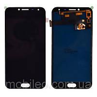 Дисплей (LCD) Samsung J400 Galaxy J4 (2018) TFT с тачскрином, чёрный