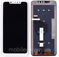 Дисплей (LCD) Xiaomi Redmi Note 6 Pro с тачскрином, белый
