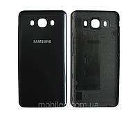 Задняя крышка Samsung J710 Galaxy J7 (2016) чёрная ориг. к-во