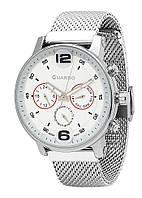 Часы мужские Guardo 12432(2)-1 серебреные