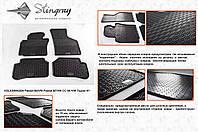 Резиновые коврики в салон на Volkswagen Passat B6 (Фольксваген Б6)