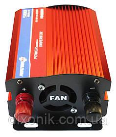 Преобразователь напряжения Power Inverter Powerone 500W вольтметр 12V в 220V