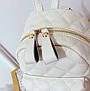 Рюкзак женский стеганый мини сумка ELIM PAUL Белый, фото 7