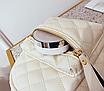 Рюкзак женский стеганый мини сумка ELIM PAUL Белый, фото 8