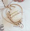 Рюкзак женский стеганый мини сумка ELIM PAUL Белый, фото 3