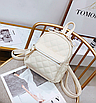 Рюкзак женский стеганый мини сумка ELIM PAUL Белый, фото 2