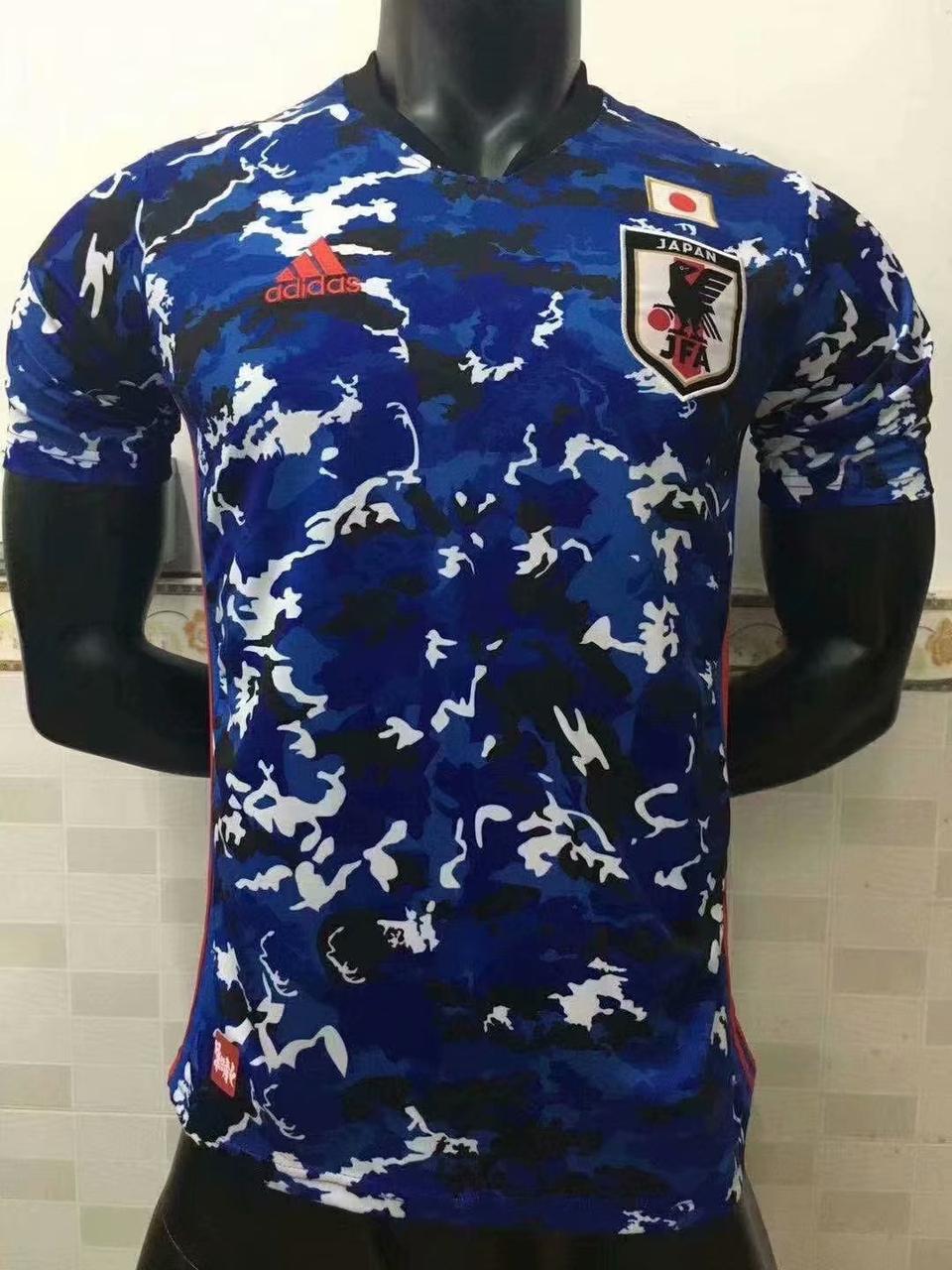Футбольная футболка сборной Японии, форма 2019-20