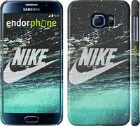 "Чехол на Samsung Galaxy S6 G920 Water Nike ""2720c-80"""