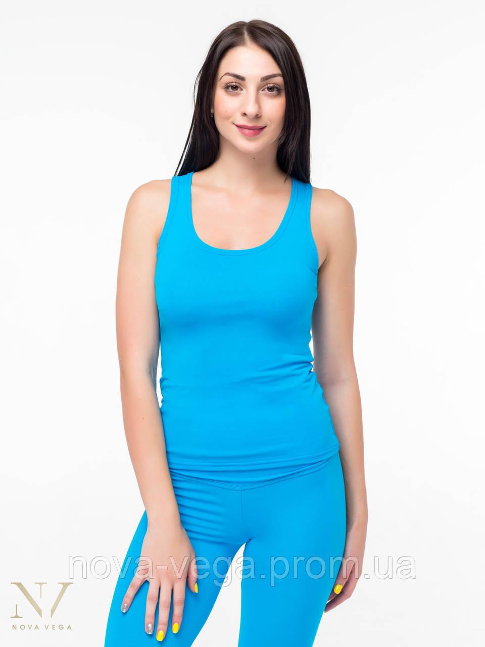 Спортивная Женская Майка-Боксерка Nova Vega Blue
