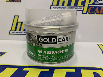 Шпатлевка GOLD CAR  GLASS стекловолокно 0,5кг