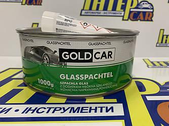 Шпатлевка GOLD CAR GLASS стекловолокно 1,0кг