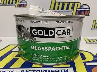 Шпатлевка GOLD CAR GLASS стекловолокно 1,7кг