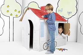 Большой картонный домик Tektorado