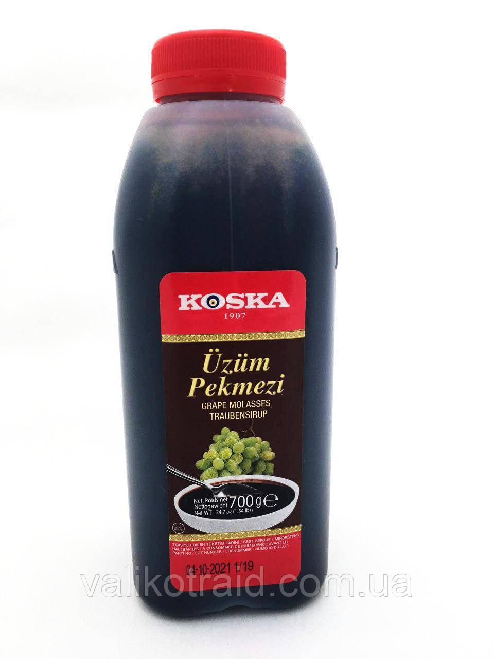 Пекмез Koska ( виноградний сироп - патока) пластик 700 мл для вагітних