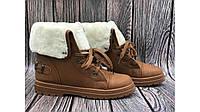 Женские ботинки тимберленды мех  осень-зима  Европа 36-40 новинка
