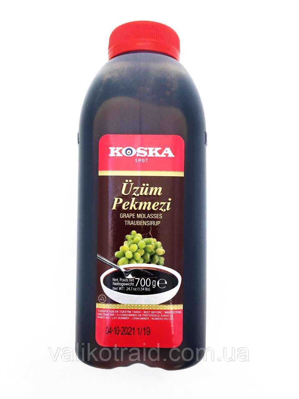 Пекмез KOSKA ( виноградний сироп - патока) пластик 700 гр для вагітних , веган,