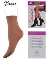 Шкарпетки Elizabeth 40 den microfibre Visone (00108/Visone)   10 пар