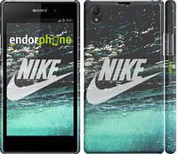 "Чехол на Sony Xperia Z1 C6902 Water Nike ""2720c-38"""