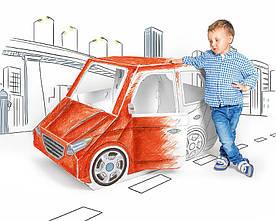Детский картонный домик автомобиль Tektorado