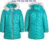 Зимові куртки дитячі для дівчаток на овчинка, фото 9