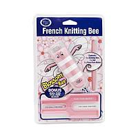 Инструменты для вязания Classic Knit French Knitting Bee, набор розовый, фото 1
