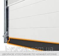 Секционные гаражные ворота WISNIOWSKI UNITHERM ш3000, в2500, фото 3