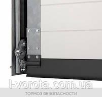 Секционные гаражные ворота WISNIOWSKI UNITHERM ш3000, в2500, фото 4