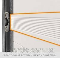Секционные гаражные ворота WISNIOWSKI UNITHERM ш3000, в2500, фото 5