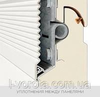 Секционные гаражные ворота WISNIOWSKI UNITHERM ш3000, в2500, фото 7