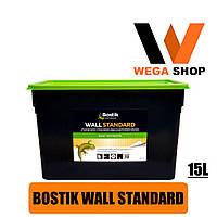Клей для стеклохолста Бостик 70 стандарт Bostik Wall Standart 15л