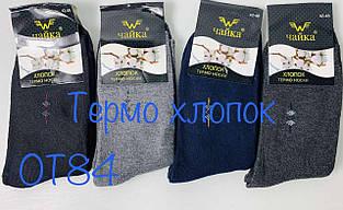 Мужские Махровые носки ЧАЙКА 42-48 ТЕРМО Хлопок
