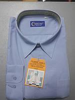 Голубая мужская рубашка-великан CLASSIC TIGE (размер 51,53)