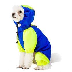 Одежда с защитой от ветра и влаги Ferplast Sporting Blue TG 37 для собак, 37 см